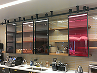 Decorative Glass Film Applications